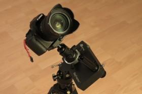 IMG_1323 iOptron SkyTracker mit Canon EOS 500D