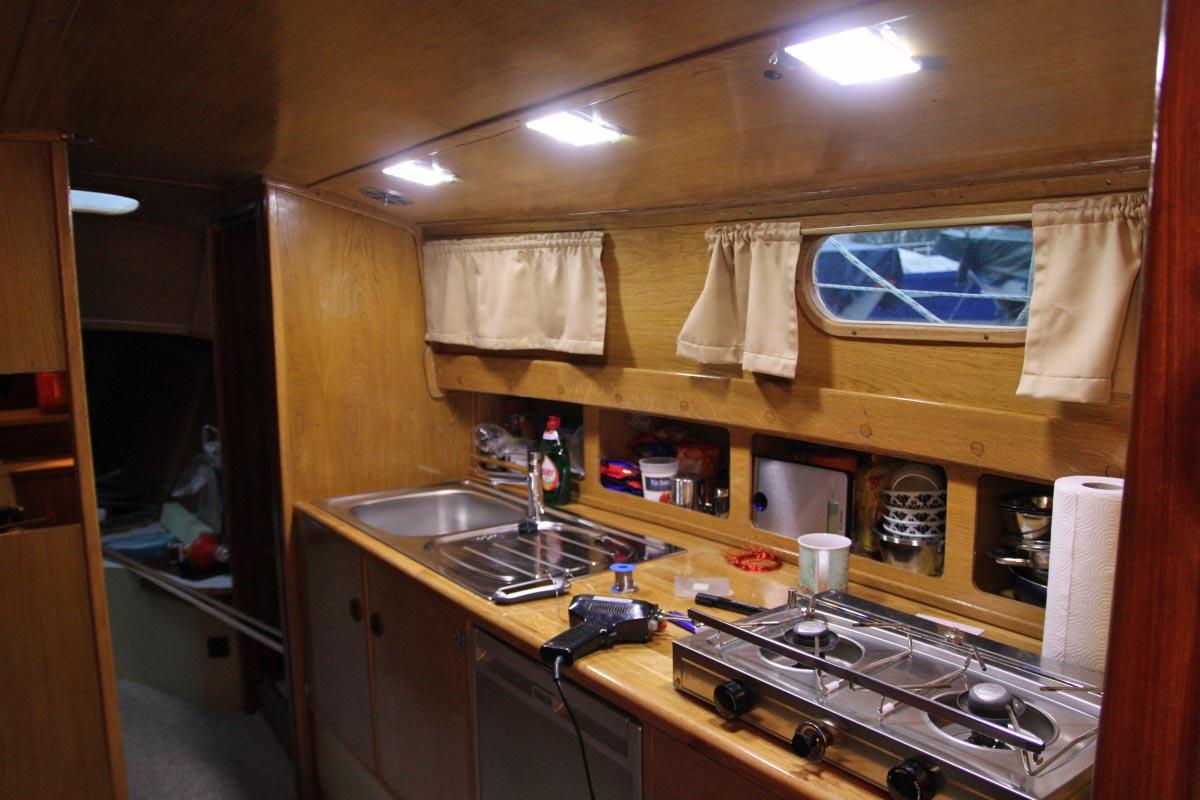 Unterschiedlich IMG_7537 DIY LED Deckenleuchten eingebaut | Sonnensegler.net FO93