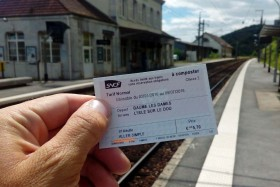 Fahrkarte gebucht!