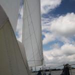 Wir segeln nach Rees